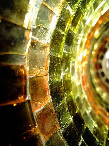 candle mosaic photo