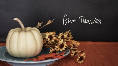 A Prayer of Giving Thanks